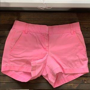 J. Crew, Hot Pink Chino Shorts - 4